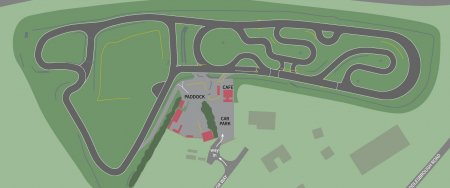 An overview of the Teesside Circuit layout